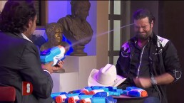 Ruleta de pistolas de agua: ¡Jaitovich toma venganza de Pablo Montero!