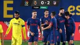 El Atlético no suelta el liderato y blanquea al Villarreal