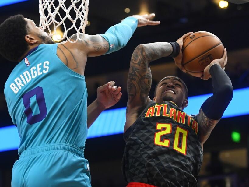 Hornets Hawks Basketball