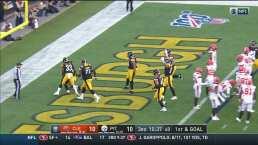 ¡Touchdown de los Steelers para dar la vuelta al marcador!