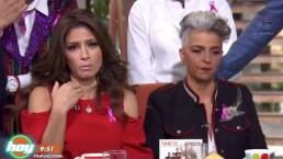 ¡Alessandra Rosaldo revive cachetada de Yáñez a reportero!