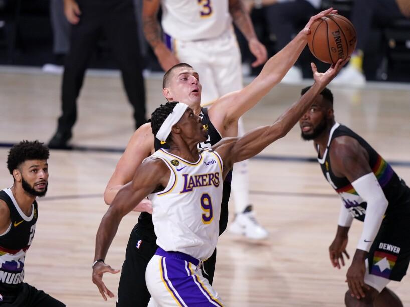 APTOPIX Lakers Nuggets Basketball