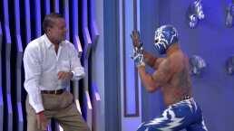 Relámpago le enseña unas llaves a Adame para derrotar a Trejo