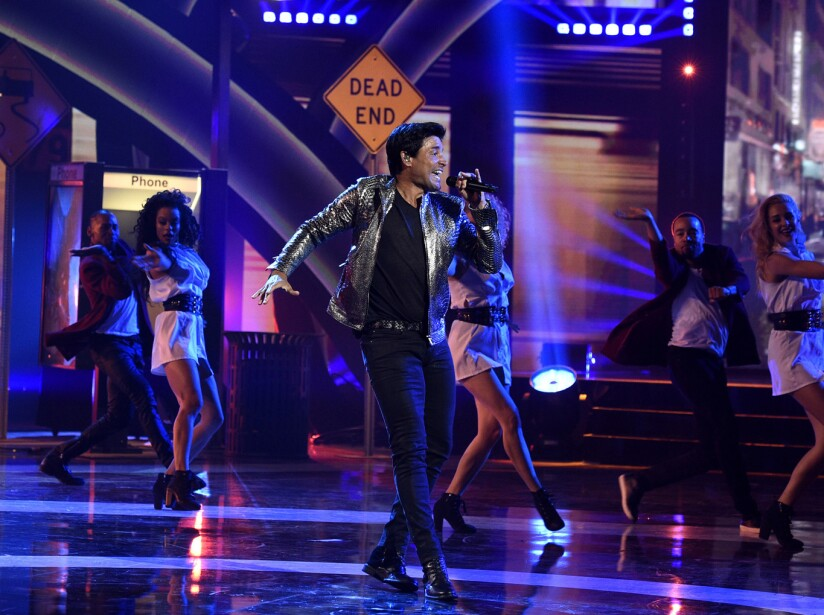 Chayanne en los Latin American Music Awards