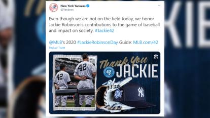 Hace 16 años se creó el día de Jackie Robinson para celebrar la diversidad dentro del terreno de juego en la MLB. Debido al covid-19, los juegos quedaron pospuestos, pero esto no impide a equipos recordarlo.