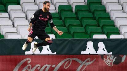 De la mano de Sergio Ramos, Real Madrid derrotó al Betis en La Liga | Los merengues consiguieron su primer triunfo luego de superar a los locales 3-2.