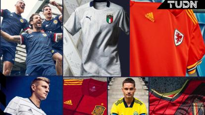 Estos son algunos de los nuevos jerseys que equipos europeos han presentado.