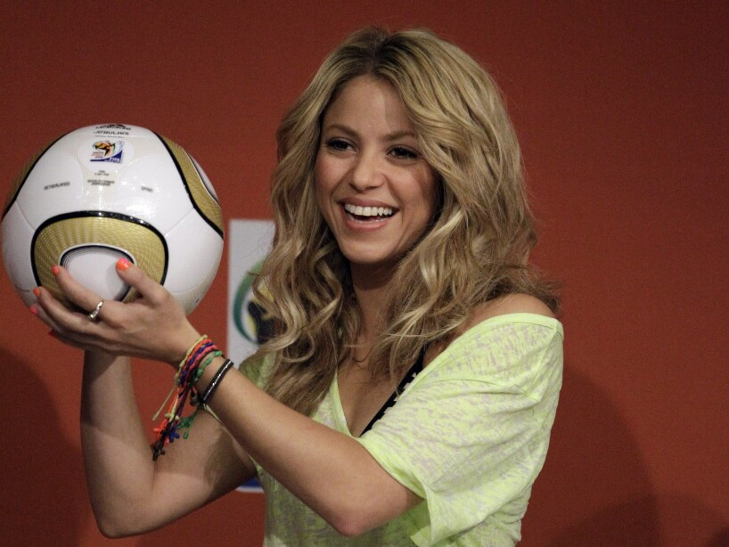 South Africa Soccer WCup Shakira
