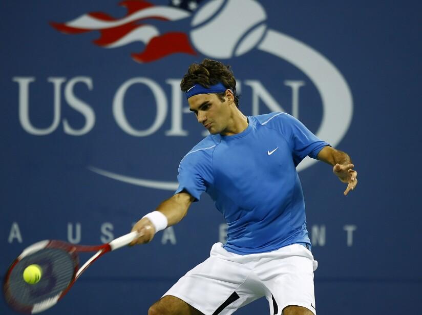 2006 US Open - Men's Singles - Quarterfinals - James Blake vs Roger Federer