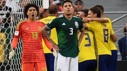 Sueciaa dio cátedra ante el Tri y se impuso 3-0 con goles de Ludwig Augustinsson, Andreas Granqvist y un autogol de Edson Álvarez. De esta manera, la selección europea se quedó con el liderato del Grupo F. Posteriormente, el resultado bajó a México la segundo lugar y los obligó a jugar ante Brasil, líder del Grupo E, en los Octavos de Final.