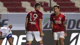 Touchdown de River y a semifinales de Copa Libertadores