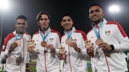 El Tricolor se colgó el bronce en fútbol
