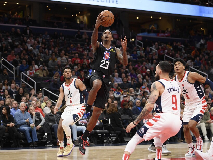 Clippers Wizards Basketball