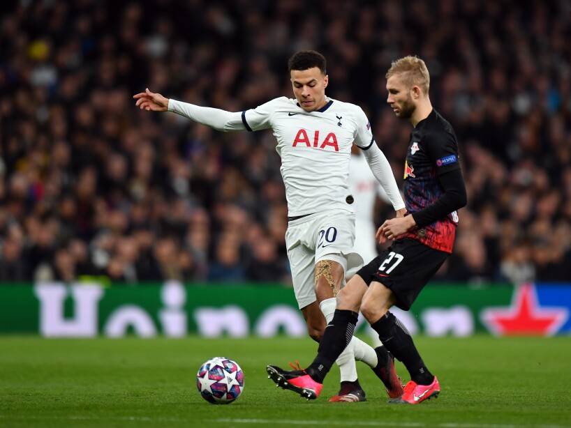 Tottenham Hotspur v RB Leipzig - UEFA Champions League Round of 16: First Leg
