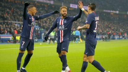 Con goles de Kylian Mbappé al 52 y Naymar al 85, el PSG gana y reafirma su liderato de la Ligue 1.