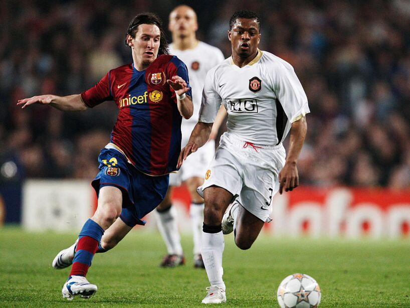Barcelona v Manchester United - UEFA Champions League Semi Final