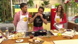 Cocina Chef Gibaja Hamburguesa de filete de atún