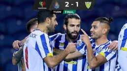 Con participación de Tecatito Corona el Porto vence al Tondela