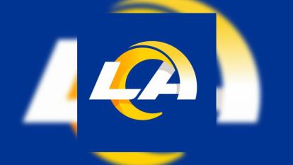 Este es el logo que se había filtrado como el posible diseño a partir de la campaña 2020 en la NFL y los Rams lo confirmaron.