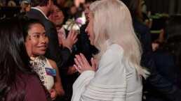 Yalitza Aparicio y su encuentro con Lady Gaga