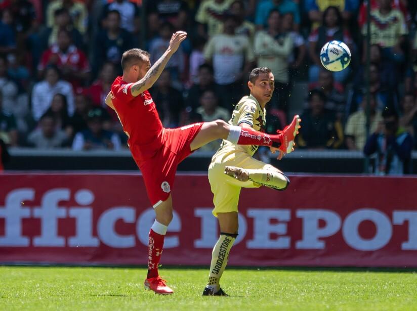 En fotos: Toluca vs América J4