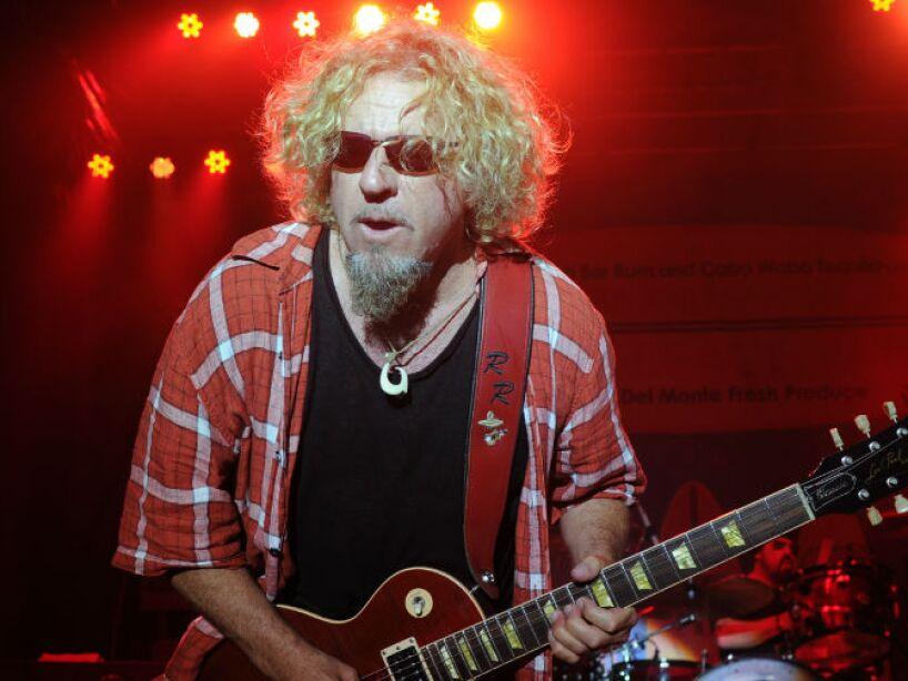 10. Sammy Hagar: El ex cantante de Van Halen contó en 2011 cómo fue secuestrado por extraterrestres.