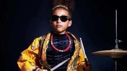 Tiene tan solo 9 años y toca la batería como toda una rockstar