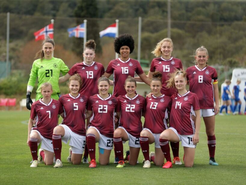 Germany v Iceland - U19 Women's Tournament