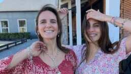Macarena Achaga visita de sorpresa a su mamá en su cumpleaños: no la veía desde hace dos años