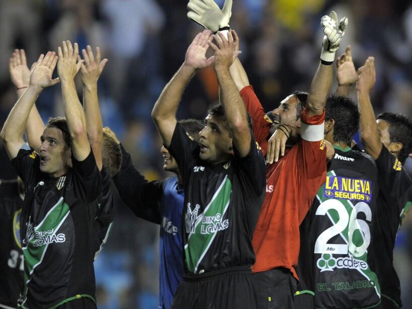 Santiago Raymonda, Maximiliano Bustos, Cristian Luchetti
