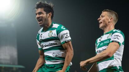Santos vence con autoridad en el TSM a Tigres y se coloca a un lugar de la Liguilla.
