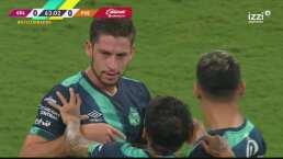 ¡Definición de videojuego! Santiago Ormeño pone el 0-1 ante Chivas