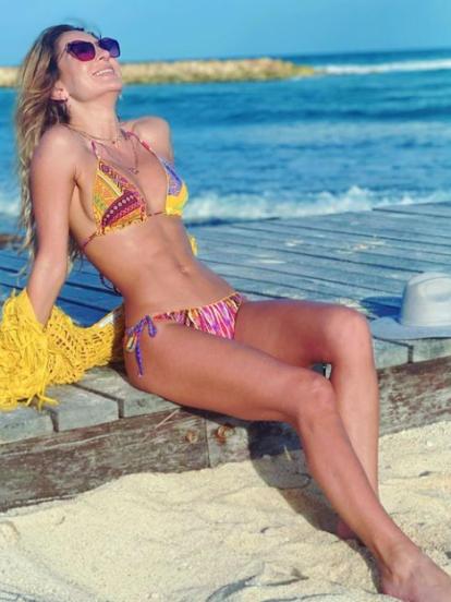 Geraldine Bazán es una de las mujeres más guapas del espectáculo, hecho que reiteró con sus últimas fotografías en traje de baño. Y es que la actriz lució más que su abdomen plano durante sus vacaciones por las playas de la Riviera Maya.