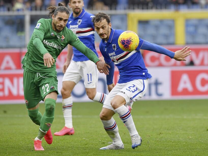 Italy Soccer Serie A Virus Outbreak