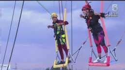 ¡Conquistando el cielo! Tania Rincón vence nuevamente a Barcelata en las alturas