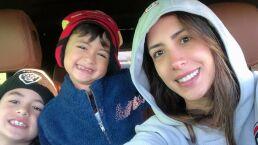 Estos han sido los momentos en los que los hijos de Cynthia Urías le han robado cámara durante su programa en vivo