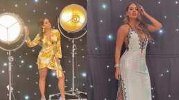 Entre grabaciones, Galilea Montijo se avienta un rico bailecito al ritmo de reggaetón