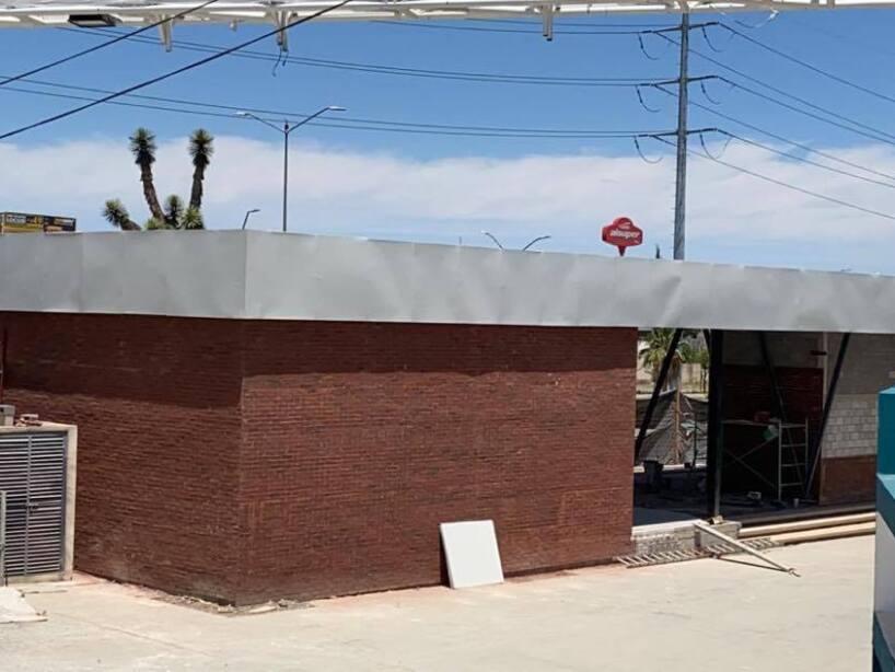 Vista de la nueva Sarape Tienda y taquillas del Estadio Madero foto 4.jpg