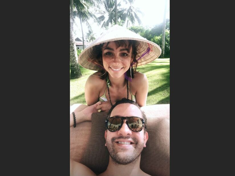Chumel Torres comparte sexys fotografías de Natalia Téllez en bikini