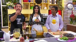 RECETA: ¡Cocina con el Chef Gibaja y Lucía Méndez!