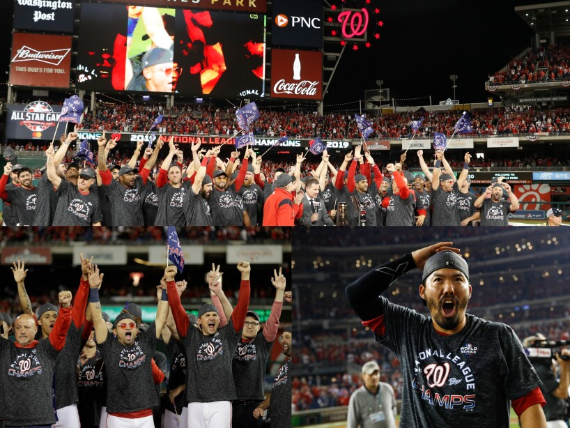 Washington Nationals jugarán por primera vez la Serie Mundial.