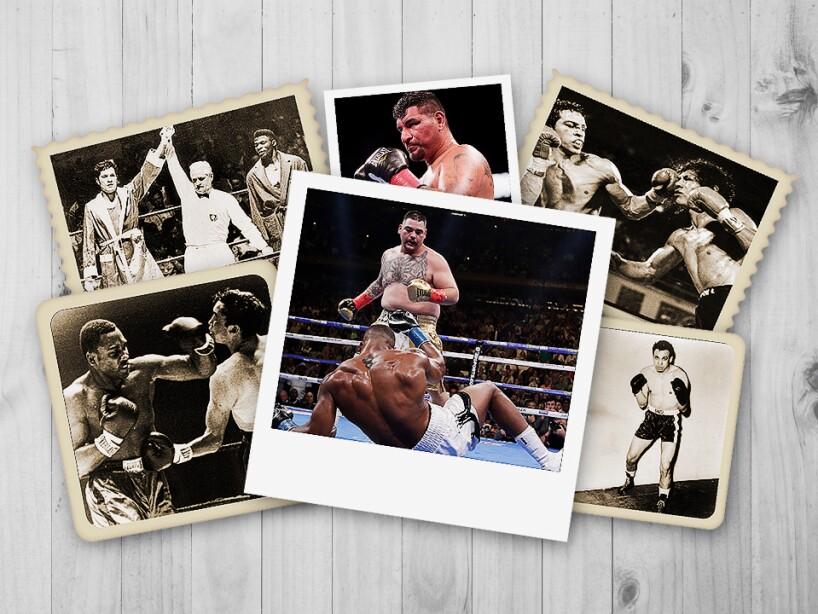 México ha contado con varios boxeadores de esta categoría, como Arturo 'Kinkg Kong' Díaz, Mauricio Villegas, Ismael Ruíz y Ladislao Mijangos, pero es la primera vez en la historia que hay un campeón en la categoría: Andy Ruiz.