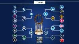 Definidas las Series de Campeonato de la MLB