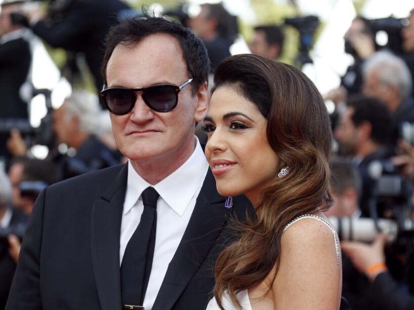 El legendario director, Quentin Tarantino, estuvo acompañado por su esposa, Daniella Pick.