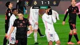 Ups! Real Madrid 'pincha' en casa ante la Real Sociedad