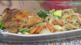 RECETA: Pollo estilo oriental