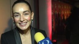 Ana de la Reguera, agradecida por su participación en los Latin Grammy