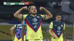 ¡Responden! Henry Martín acaricia la pelota para el 1-1 de América