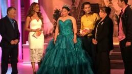 Mitzy regala vestido de XV años 7 octubre 2015