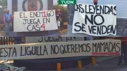 """Afición de Cruz Azul advierte que no quiere """"mama…."""" en liguilla"""